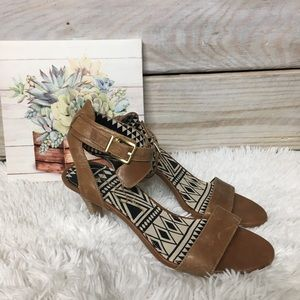 Jessica Simpson Strappy Heels Size 8 1/2